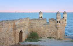 Yeni-Kale, ancient fortress in Kerch Royalty Free Stock Images