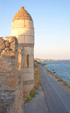 Yeni-Kale, ancient fortress in Kerch, close up Royalty Free Stock Images