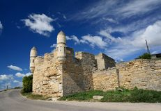 Yeni-Kale, ancient fortress in the Kerch Strait Royalty Free Stock Images