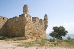 Yeni-Kale in Crimea. Yeni-Kale, ancient turkish fortress in Kerch, Crimea Royalty Free Stock Photography