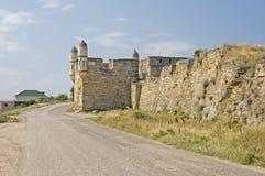 Yeni-Kale in Crimea. Yeni-Kale, ancient turkish fortress in Kerch, Crimea Royalty Free Stock Photos
