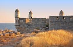 Yeni-Kale, fortaleza antiga em Kerch Fotografia de Stock