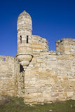 Yeni-Kale fortess. Ancient Turkish fortess in Kerch, Ukraine royalty free stock photography