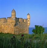 Yeni-Kale's tower - Crimea Stock Photos