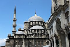 Yeni Mosque. In Istanbul, Turkey Stock Photography