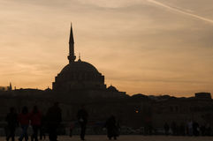 The Yeni Mosque Royalty Free Stock Images