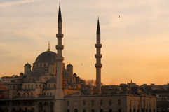 The Yeni Mosque Stock Photo