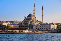 The Yeni Mosque in Istanbul Royalty Free Stock Image