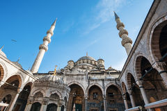 The Yeni Mosque, New Mosque or Mosque of the Valide Sultan, Istanbul, Turkey Royalty Free Stock Photos