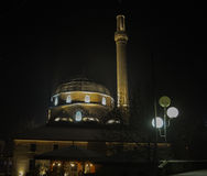 Yeni Mosque. The Yeni mosque is an old mosque in the centre of the city of Bitola built in 1558 Royalty Free Stock Image