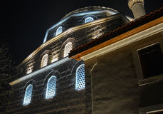 Yeni Mosque. The Yeni mosque is an old mosque in the centre of the city of Bitola built in 1558 Royalty Free Stock Images