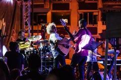 Yeni Turku festiwal muzyki Publicznie Obrazy Royalty Free