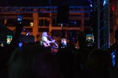 Yeni Turku festiwal muzyki Publicznie Zdjęcia Royalty Free