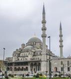 Yeni Valide Sultan Camii New moské, Istanbul, Turkiet royaltyfri fotografi