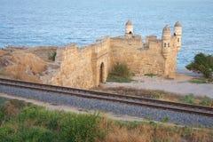 Yeni-Wirsingkohl, alte Festung in Kerch Stockfotografie