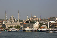 Yenicami Mosque in Istanbul, Turkey Stock Image