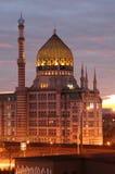 Yenidze на сумраке стоковое изображение rf