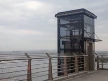 Yenikapı wiaduktu windy wierza Istanbuł obraz stock