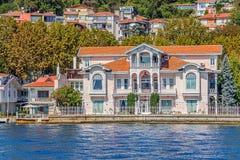 Yenikoy Istanbul coast Stock Images