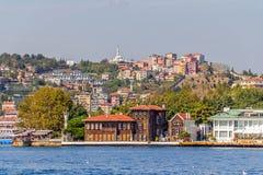 Yenikoy Istanbul coastal Stock Photography