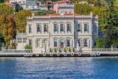 Yenikoy Istanbul coastal Royalty Free Stock Photography