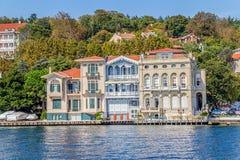 Yenikoy Istanbul coastal Stock Image