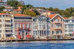 Yenikoy Istanbul coastal Royalty Free Stock Photo