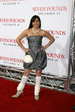 Yennifer Behrens Seven Pounds Premiere  - Los Angeles, CA Royalty Free Stock Photography