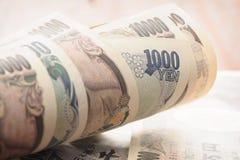 Yens japonais photos libres de droits