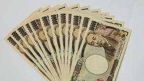 Yens japonais Image libre de droits