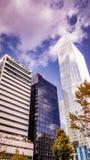 Yeo-eui-font les bâtiments financiers commerciaux d'affaires Images libres de droits