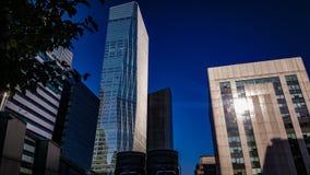 Yeo-eui-gör kommersiella finansiella affärsbyggnader Royaltyfria Bilder