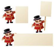Yeoman Announces Stock Photo