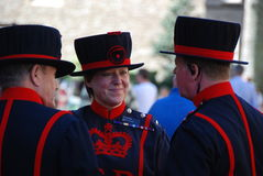 Yeoman warder 2 Royalty Free Stock Image