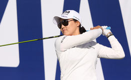 So yeon ryu at the ANA inspiration golf tournament 2015 Royalty Free Stock Photo