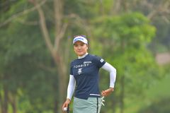 So Yeon Ryu in Honda LPGA Thailand 2018. So Yeon Ryu of Republic of Korea in Honda LPGA Thailand 2018 at Siam Country Club, Old Course on February 24, 2018 in Royalty Free Stock Image
