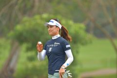 So Yeon Ryu in Honda LPGA Thailand 2018. So Yeon Ryu of Republic of Korea in Honda LPGA Thailand 2018 at Siam Country Club, Old Course on February 24, 2018 in Royalty Free Stock Photography