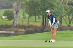 So Yeon Ryu in Honda LPGA Thailand 2018. So Yeon Ryu of Republic of Korea in Honda LPGA Thailand 2018 at Siam Country Club, Old Course on February 24, 2018 in Stock Photo