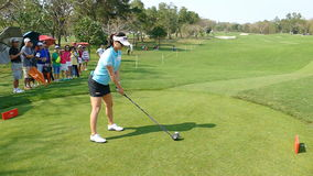So Yeon Ryu of South Korea in Honda LPGA Thailand 2016. CHONBURI - FEBRUARY 27: So Yeon Ryu of South Korea in Honda LPGA Thailand 2016 at Siam Country Club