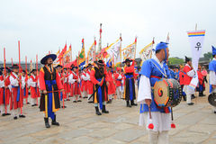 Yeongam Wangin Culture Festival in Seoul Royalty Free Stock Image
