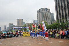 Yeongam Wangin Culture Festival in Seoul  Royalty Free Stock Photography