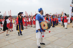 Yeongam Wangin Culture Festival in Seoul Royalty Free Stock Images