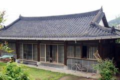 Yeonggwang/Южная Корея - 05 05 2018: традиционный корейский дом Стоковое Фото