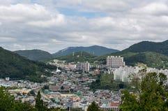 Yeosu city view Royalty Free Stock Photo