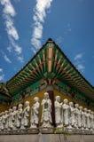 Yeosu Heungguk tempel royaltyfri foto