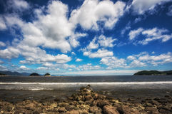 Yeosu musulmok beach Royalty Free Stock Photos