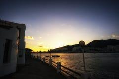 Yeosu sunset Stock Photography