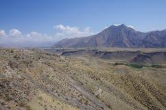 Yeranos Mountain Range near Azat reservoir in Kotayk Province. Armenia royalty free stock photos