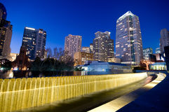 Yerba Buena gardens in San Francisco Stock Photos