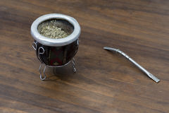 Yerba mate argentina Stock Photo
